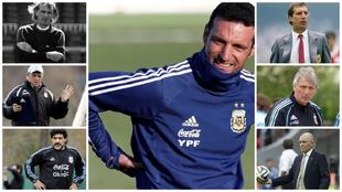 Los DT que pasaron por la Selección Argentina