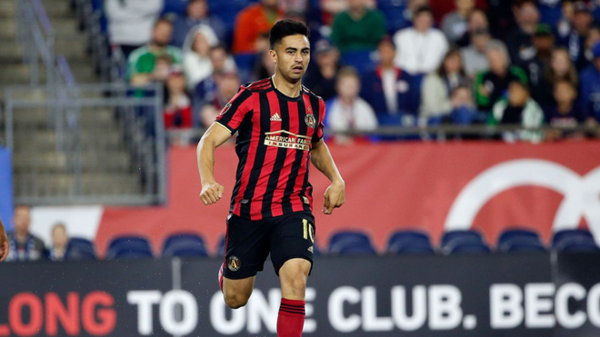 Atlanta United le busca club a Pity Martínez