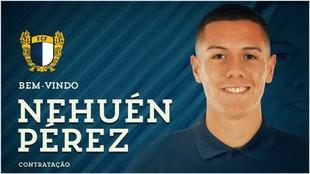 Nehuén Pérez llega a préstamo al Famalicao procedente del Atlético...