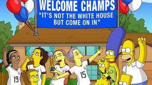 """""""No es la Casa Blanca, pero pasen"""": La felicitación de los..."""