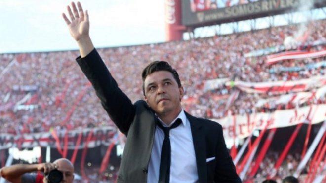 Marcelo Gallardo director técnico de River.