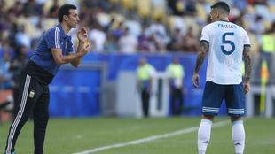 Paredes apoya la continuidad de Scaloni en la Selección Argentina