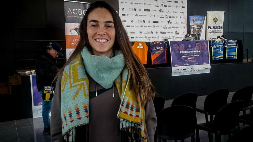Agustina Barroso, jugadora de la Selección Argentina