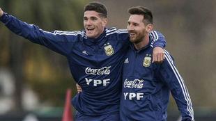 De Paul bancó fuerte a Lionel Messi