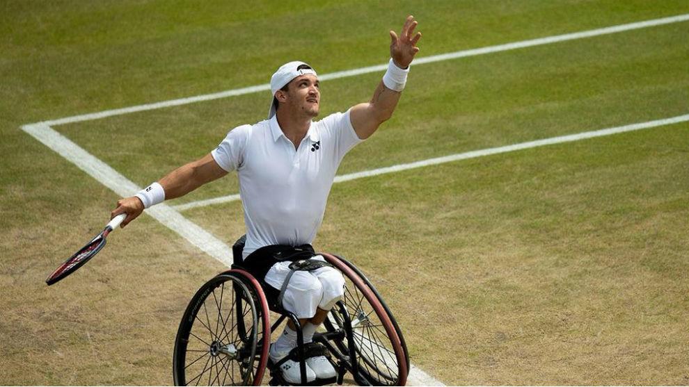 Gustavo Fernández puso primera en Wimbledon