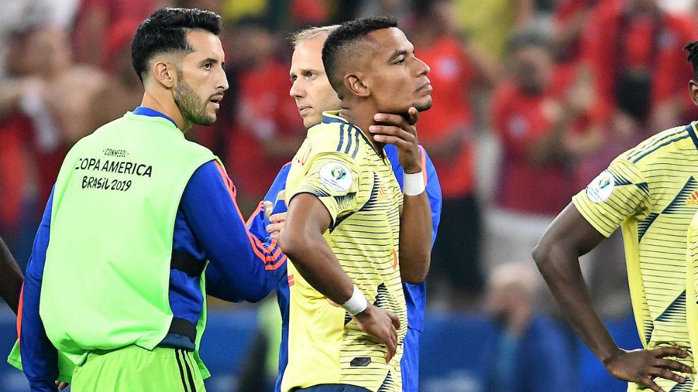 Tras la Copa América estuvo en Armenia junto a la familia de su...