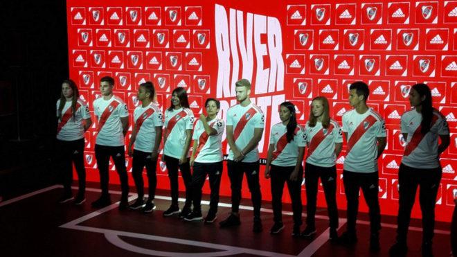 River presenta su nueva camiseta titular para la temporada 2019/2020