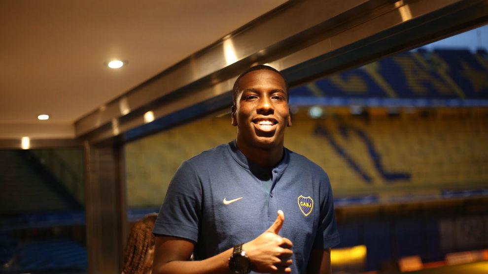 Jan Hurtado, feliz con su fichaje por Boca.