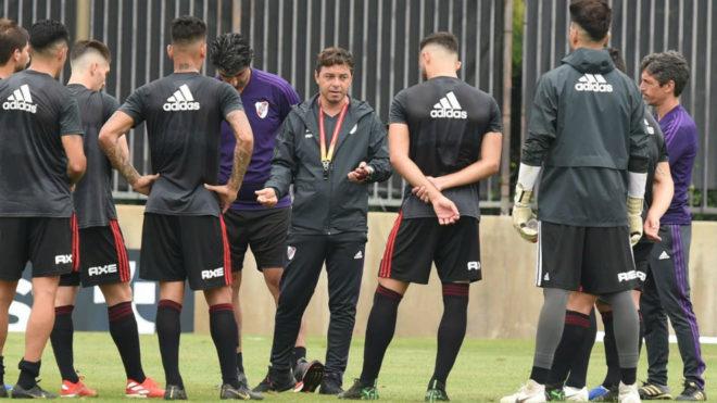River, con Santos Borré, se mete en octavos de Copa Argentina