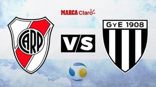 River Plate vs Gimnasia de Mendoza. Horario y dónde ver en TV online...