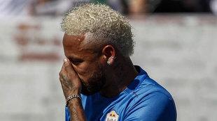 Roban la entrevista exclusiva a Neymar que debía emitirse hoy en...