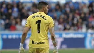 Gerónimo Rulli, jugador de la Real Sociedad podría fichar por el...