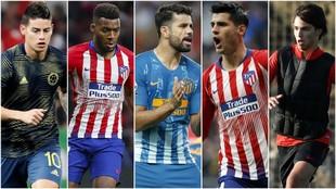 El ataque que Simeone quiere para su Atlético de Madrid.