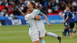 Estefania Banini, capitana de la Selección en Francia 2019