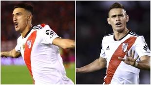 Suárez y Borré buscarán ganarse su lugar entre los titulares