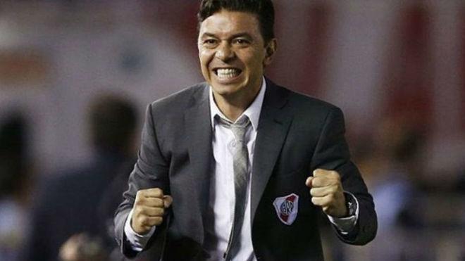 Marcelo Gallardo, el DT de River hace cinco años