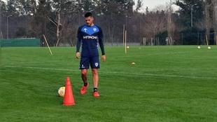 Fernando Gago se pone a punto para regresar a Vélez