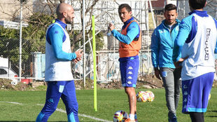 Lisandro López se reincorpora a los entrenamientos