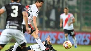 Nacho Fernández, futbolista de River.