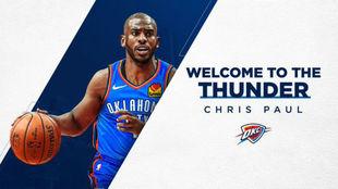 Chris Paul jugará en Oklahoma