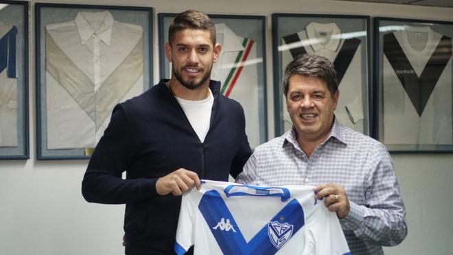 Vélez oficializa la llegada de Matías De los Santos