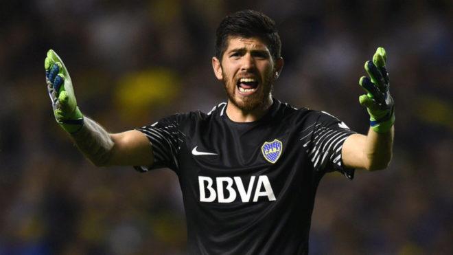 """Agustín Rossi: """"River ganaba 4-0 y se hablaba de Armani"""""""