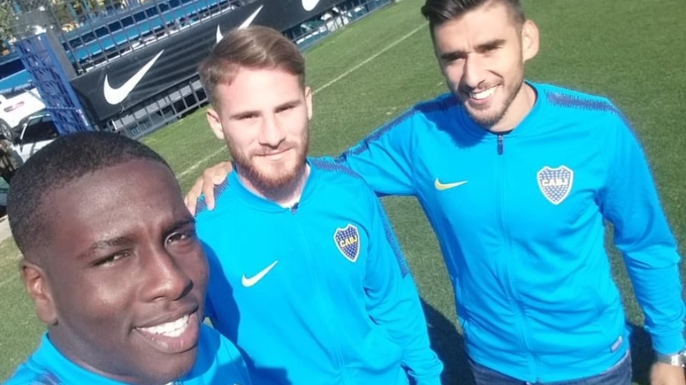 Hurtado, Mac Allister y Salvio, los refuerzos de Boca
