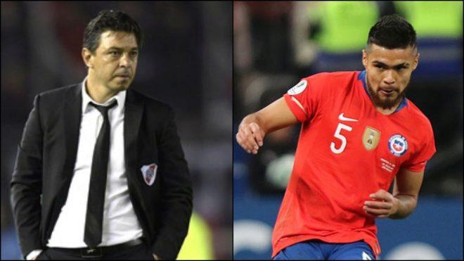 Gallardo podría contar con Paulo Díaz