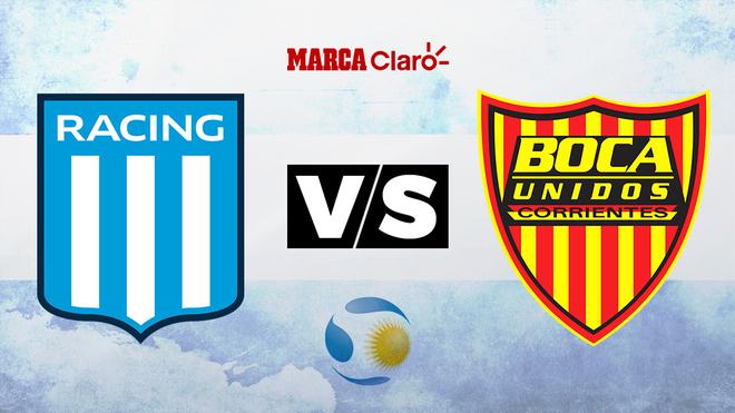 Racing vs Boca Unidos, minuto a minuto, en directo