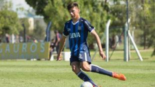 Tomás Kummer, el chico de 14 años que podría debutar en Talleres