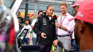Hamilton y Button, la gran dupla de Mercedes en su momento.