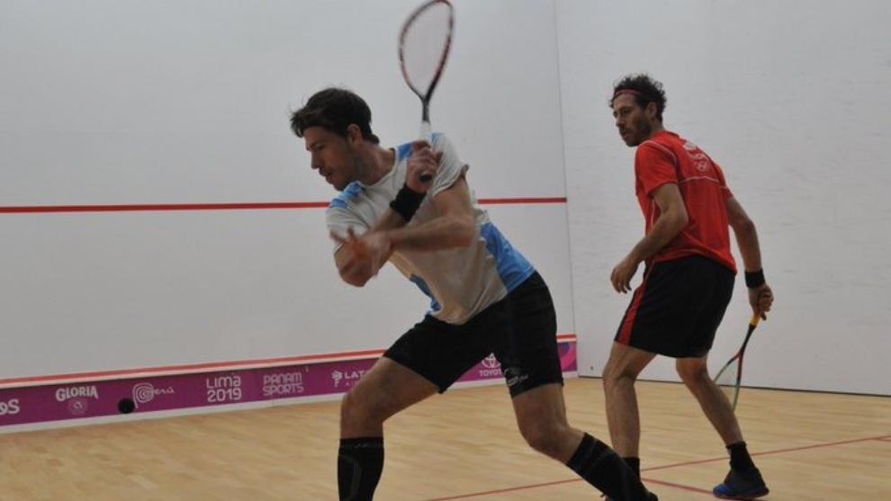 Pezzota se metió en semifianles de squash