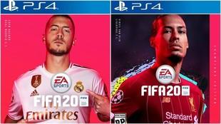 Eden Hazard y Virgil Van Dijk protagonizarán la portada de FIFA 20