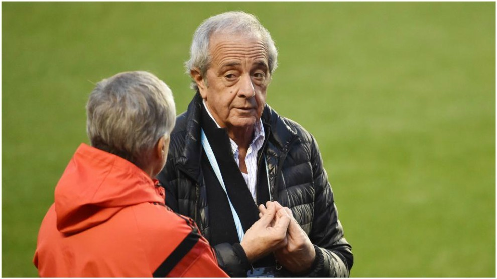 Rodolfo D'Onofrio, presidente de River Plate.