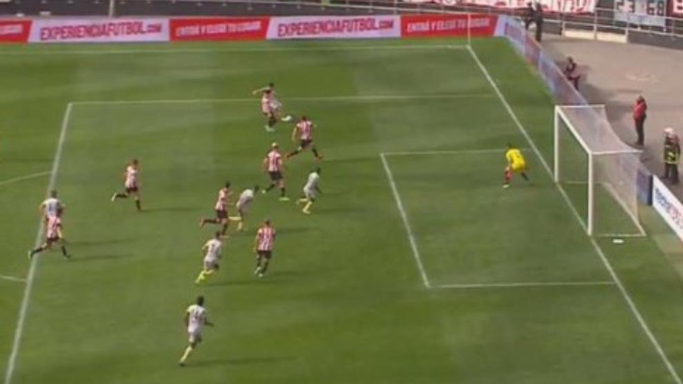 El off-side inexistente que le prohibió el empate a Aldosivi