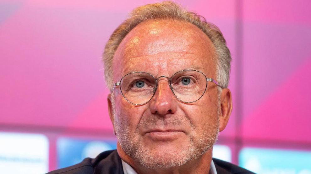 Rummenigge, CEO del Bayern de Munich.