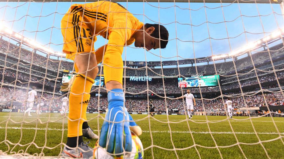 Courtois se suma a la lista de lesionados del Real Madrid