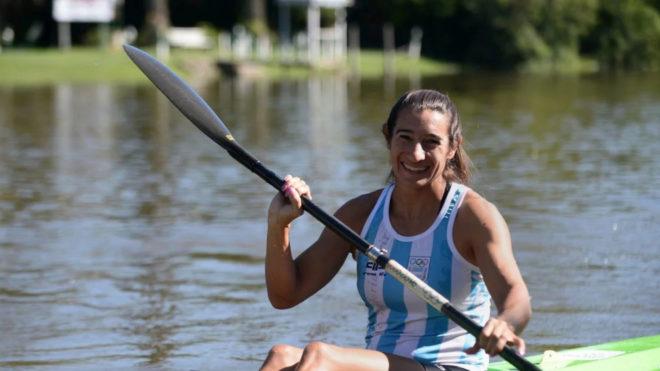 Sabrina Ameghino logra otra medalla de oro en el canotaje