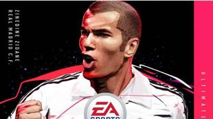 FIFA 20: Zinedine Zidane protagoniza la portada de la edición...