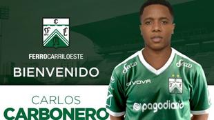 Ferro oficializa el fichaje de Carlos Carbonero