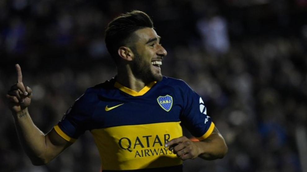 Toto Salvio abrió el camino para la victoria de Boca