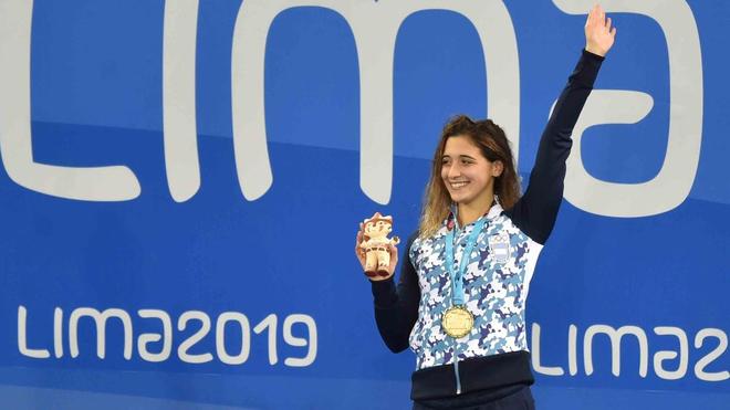 Delfina Pignatiello quiere repetir su actuación en Lima 2019 pero en los Juegos Olímpicos de Tokio