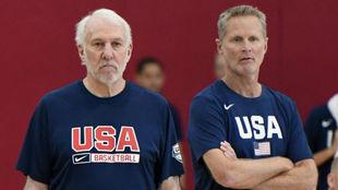 """Steve Kerr: """"Alguien podría entrar a este pabellón y..."""