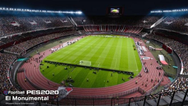River será exclusivo de eFootball PES 2020
