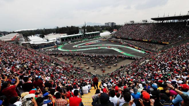 El GP de México renueva y seguirá en la Fórmula 1