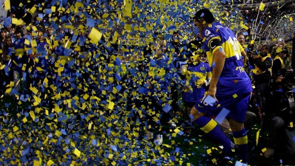La despedida de Riquelme podría ser el 12 de octubre en La Bomboenra