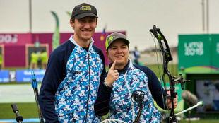 Iván Nikolajuk y Eugenia González se quedaron con el oro en tiro con...