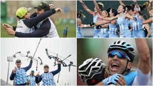 Algunos de los éxitos de Argentina en los Juegos Panamericanos Lima...