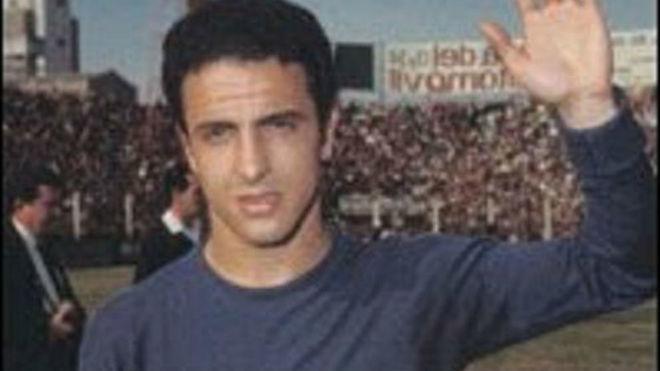 Novello, uno de los tres italianos que jugaron en Boca