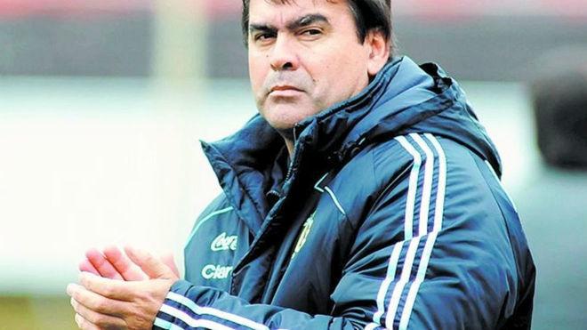 'Tata' Brown, exfutbolista de la Selección Argentina.